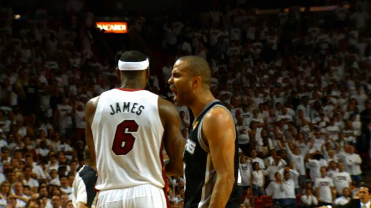 Phantom: Best of Tony Parker and LeBron James Finals Game ...