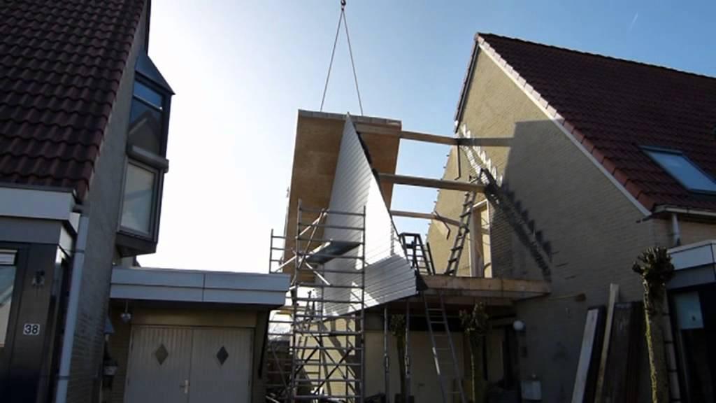 Bouwen Garage Kosten : Esselink bouw plaatsen prefab dakopbouw op garage te kampen