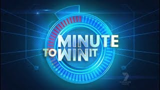 Minute to Win It Australia (22.06.2010) First episode