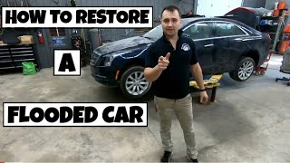 HOW TO RESTORE A FLOODED CAR (2018)