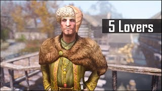 Skyrim: 5 Secret Lovers Who are Hiding Their Relationship - The Elder Scrolls 5 Secrets