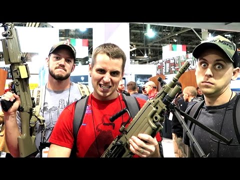 SHOT SHOW ATWOOD EDITION! COOLEST NEW GUNS