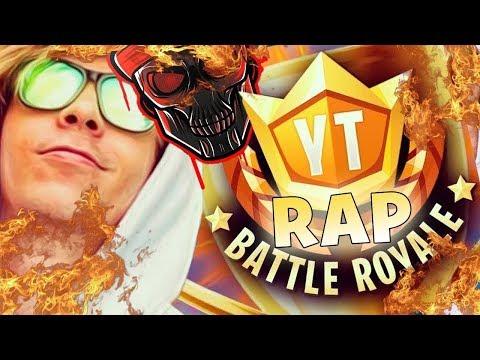 RAP FORTNITE YT BATTLEROYALE | Zarcort, Keyblade, Kronno y Jacky