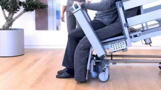 Медицинская функциональная кровать с функцией вертикализации Vertica(Используется для реабилитации больных в условиях дома и стационара., 2013-09-09T06:58:23.000Z)