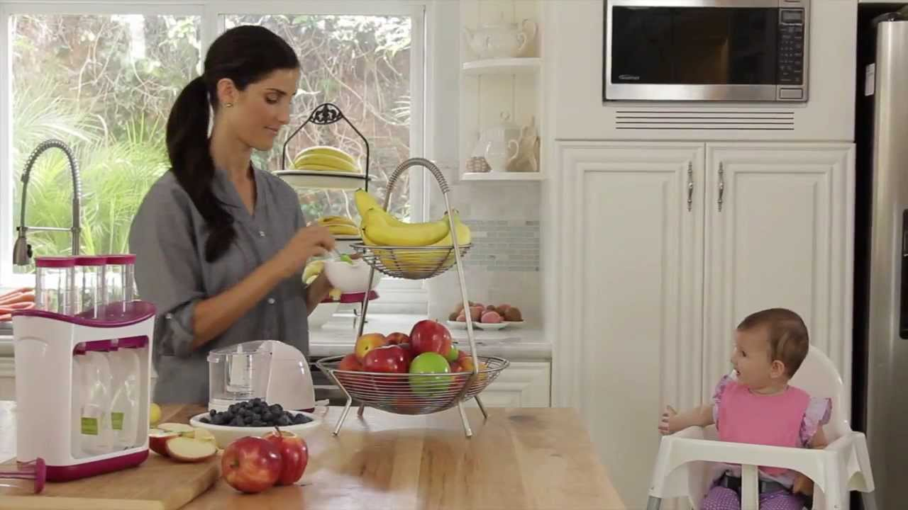 Infantino S Fresh Squeezed System For Diy Food Pouches