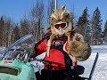 VERY CUSTOM JOHNSON vintage snowmobile