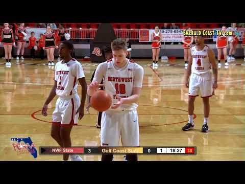 Gulf Coast State College vs Northwest Florida State College - Men's Basketball - January 4, 2020