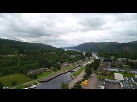 Fort Augustus From The Air