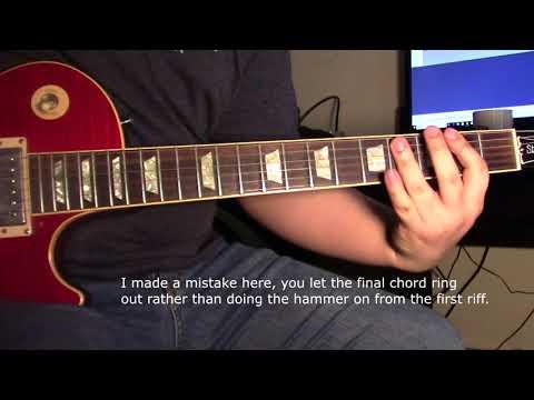 How to Play: Edge of Darkness - Greta Van Fleet (Guitar Lesson)