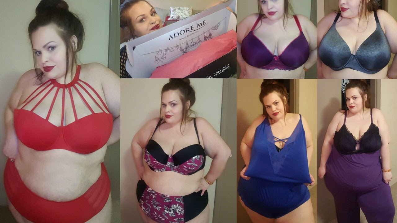 294960460eaff ADORE ME PLUS SIZE TRY ON HAUL | LINGERIE, SWIM & MORE - YouTube