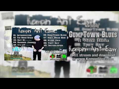GumpTown Blues (ft Mike Bama)-OFFICIAL AUDIO