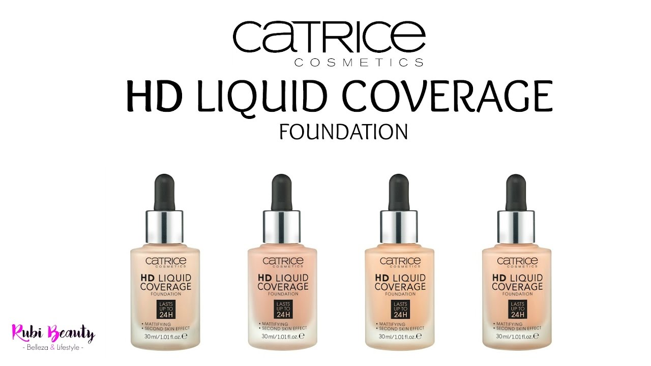 maquillaje hd catrice