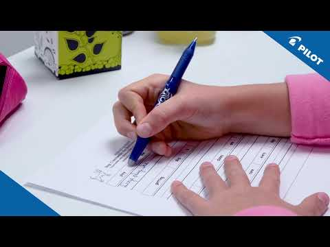 Pilot - FriXion - At primary school - Learning to write