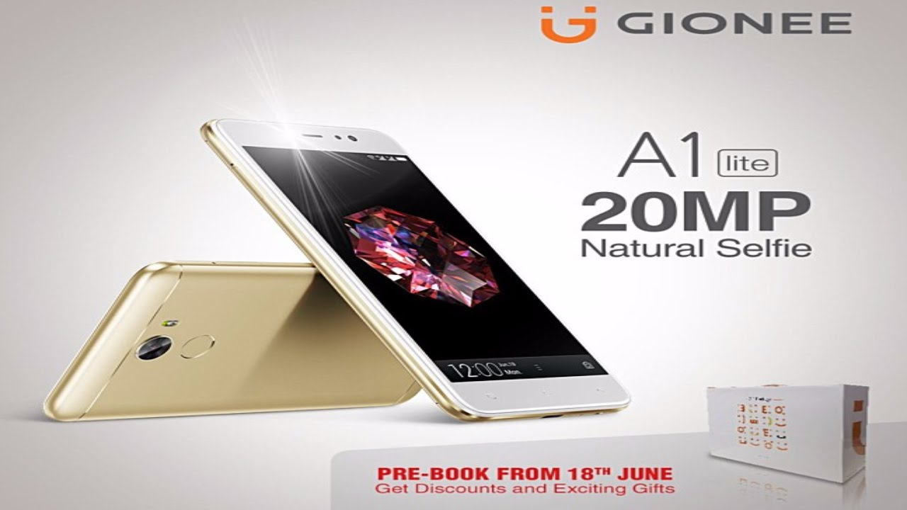 386ccefe3 Gionee A1 Lite with 20MP front camera