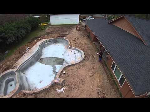 Time Lapse Pool Build by Austin Custom Pools