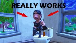 HOW TO POOP WHILE PLAYING FORTNITE!!! REALLY WORKS (why did this get views)