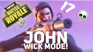 John Wick Mode! - 17 Kills - PS4 Fortnite Battle Royale