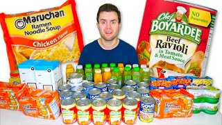 Canned Food HAUL! for you know what... Chef Boyardee, Ramen, & More