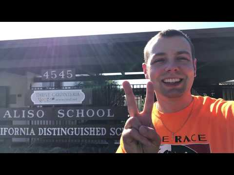 Mr. Peace Visits Aliso Elementary School in Carpinteria, California