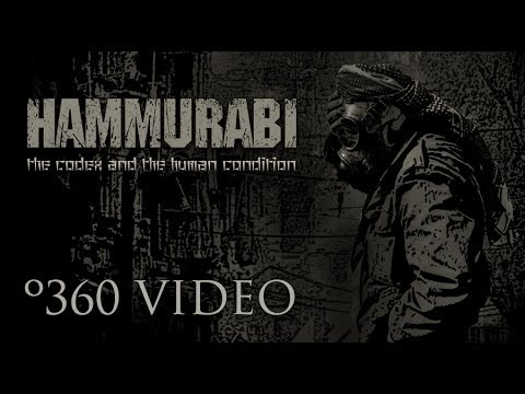 HAMMURABI - The Codex and the Human Condition (360 VISUALIZER OFFICIAL VIDEO)