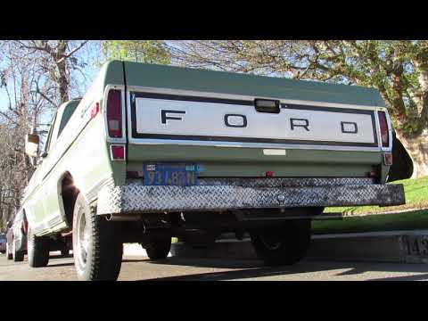 1971 Ford F-100 Sport Custom