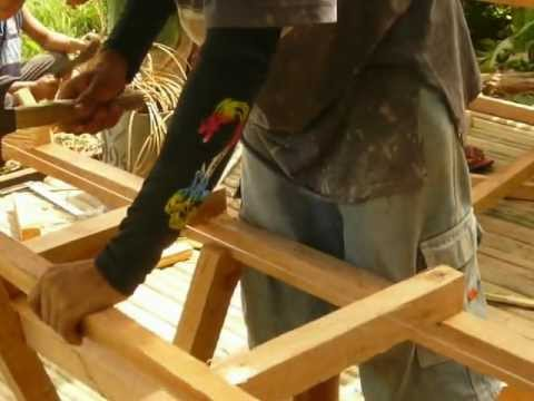 Building a native hut (Pt 4) Malinao Garcia-Hernandez Bohol Philippines