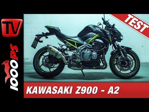 Kawasaki Z900 A2 - 48PS - Die sanfte Puristin für Fahranfänger