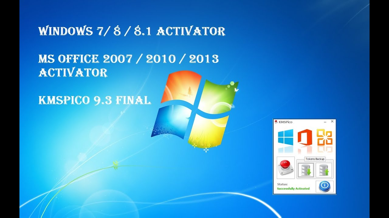 Windows 7 activator 2017 final by daz 2.1.7