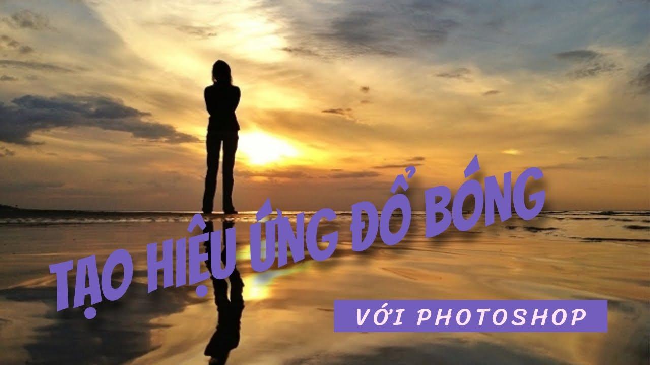 Học PHOTOSHOP online tiếng việt – Tạo hiệu ứng đổ bóng cho chữ, logo hoặc shape (long shadow)