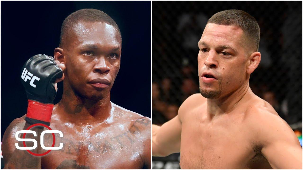 Reaction to Israel Adesanya's win, Nate Diaz's loss at #UFC263 | SportsCenter