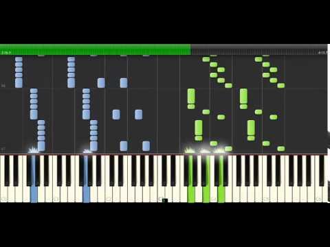 Saurom , Noche De Halloween (Piano Tutorial) (Synthesia)