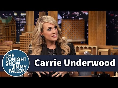 Carrie Underwood Gives Her Baby Private Concerts