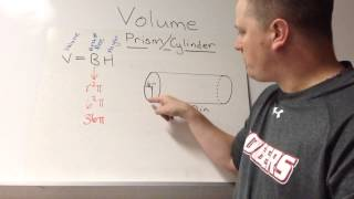 Chapter 10 Video 2 - Volume of Prism/Cylinder/Pyramid/Cone