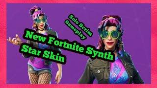 *New* Fortnite Synth Star Skin | Solo scrim Gameplay