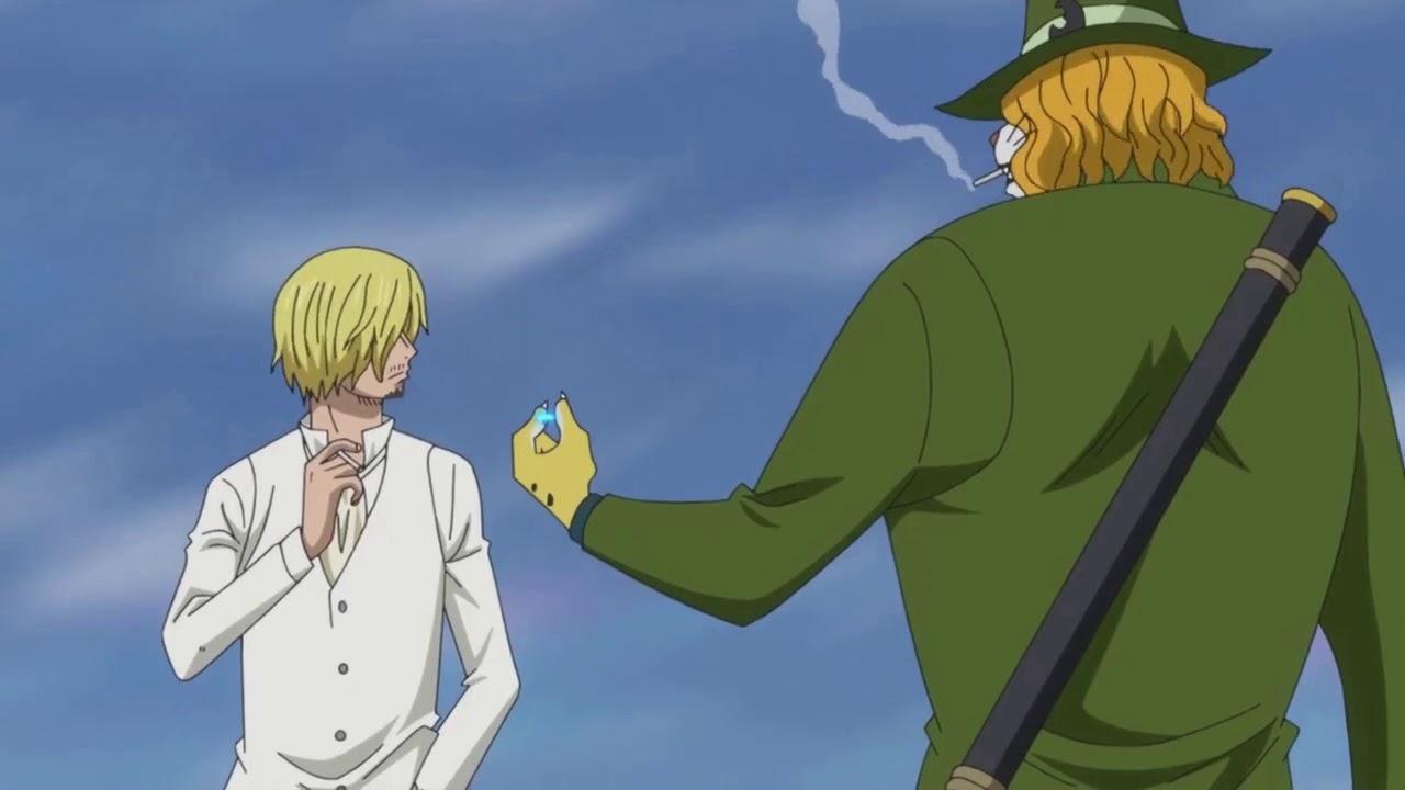 One Piece Pedro Lights A Smoke For Sanji Youtube