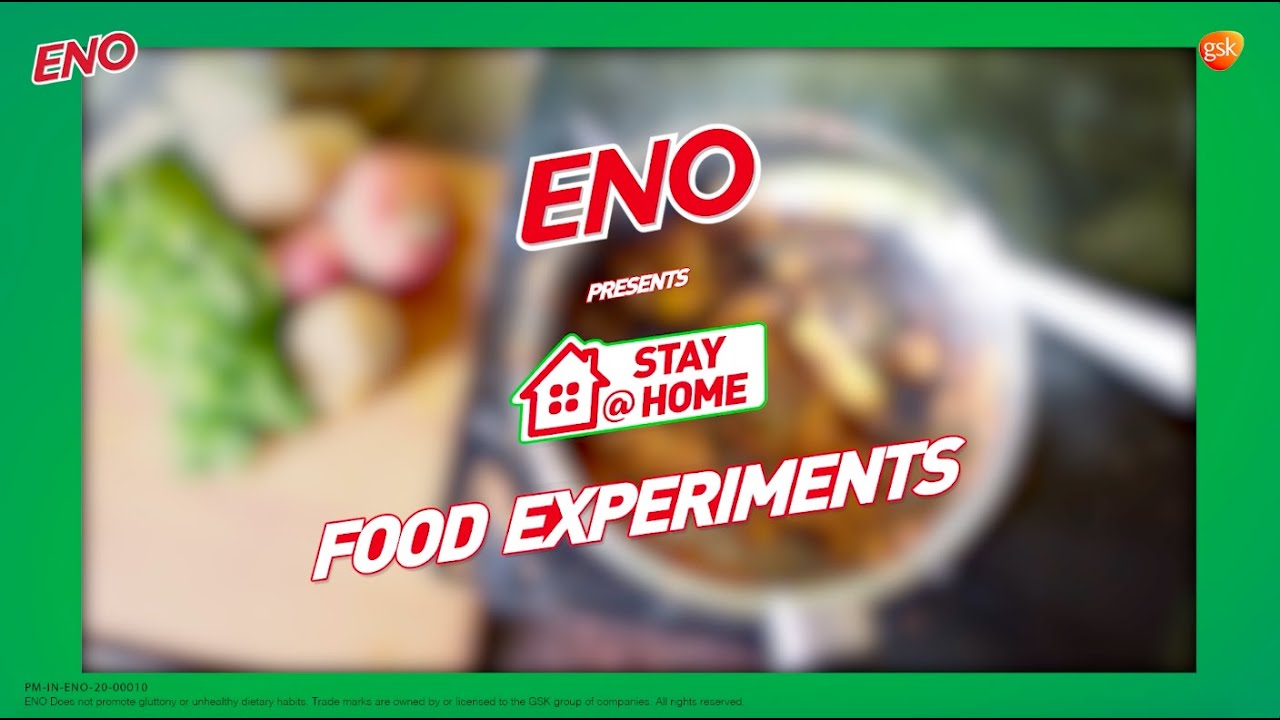 ENO presents Stay@Home - Food Experiments