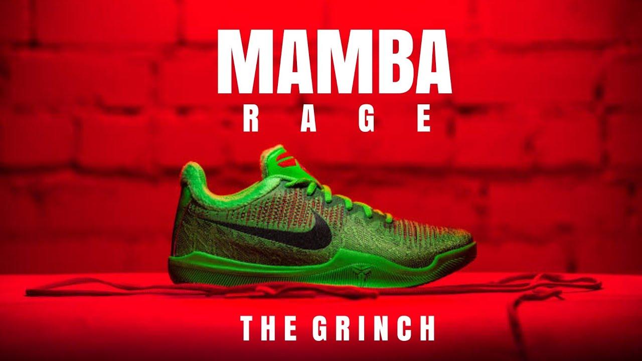 NIKE MAMBA RAGE THE GRINCH: UNBOXING +