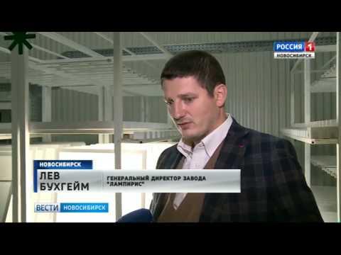 Новосибирский производитель светильников с диодами запустил новый цех