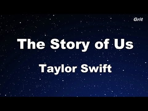 The Story of Us - Taylor Swift Karaoke【With Guide Melody】