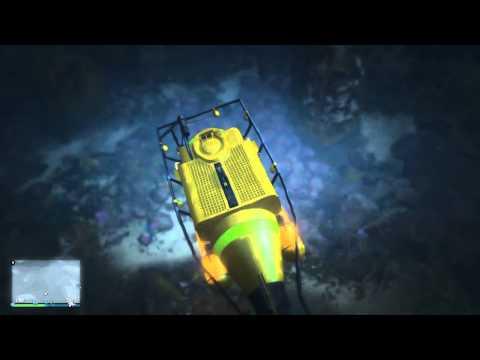 GTA V - Esplorando i fondali marini