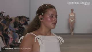 KARLA SPETIC MERCEDES - BENZ FASHION WEEK AUSTRALIA RESORT '20 COLLECTIONS