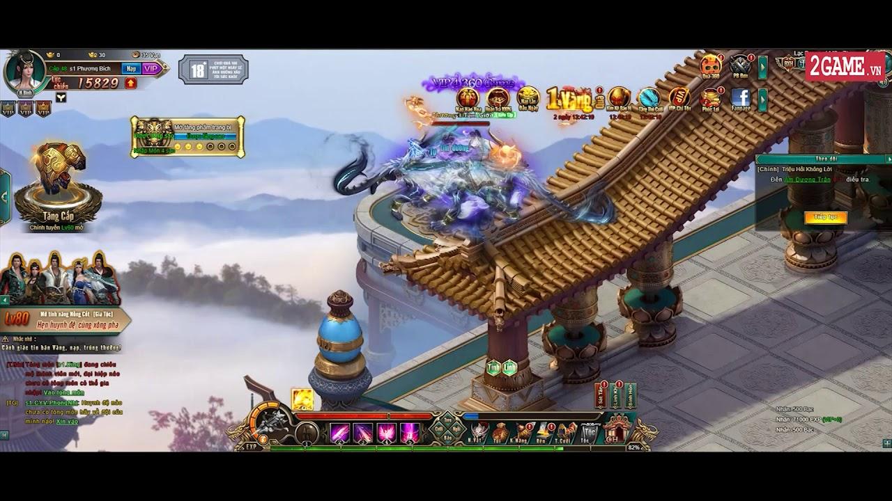 Cận cảnh webgame Kiếm Khách VNG trong ngày đầu ra mắt tại Việt Nam