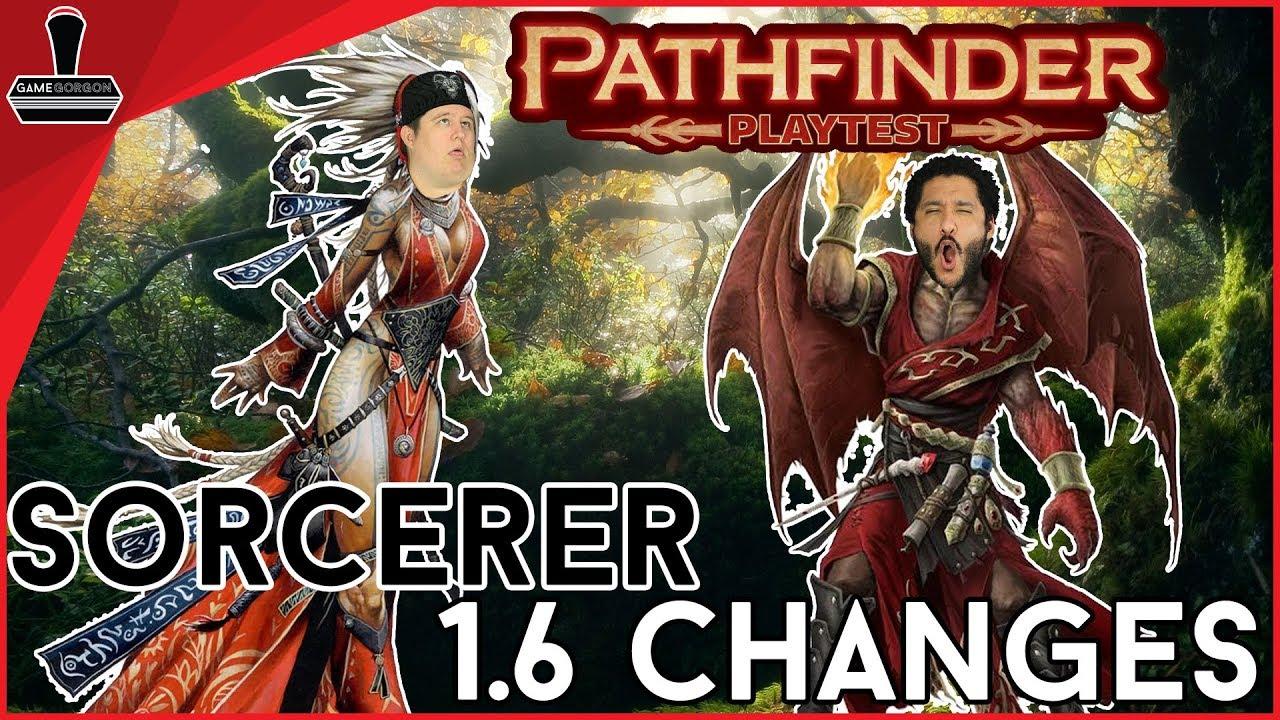 Pathfinder Playtest Sorcerer Changes 1 6   GameGorgon