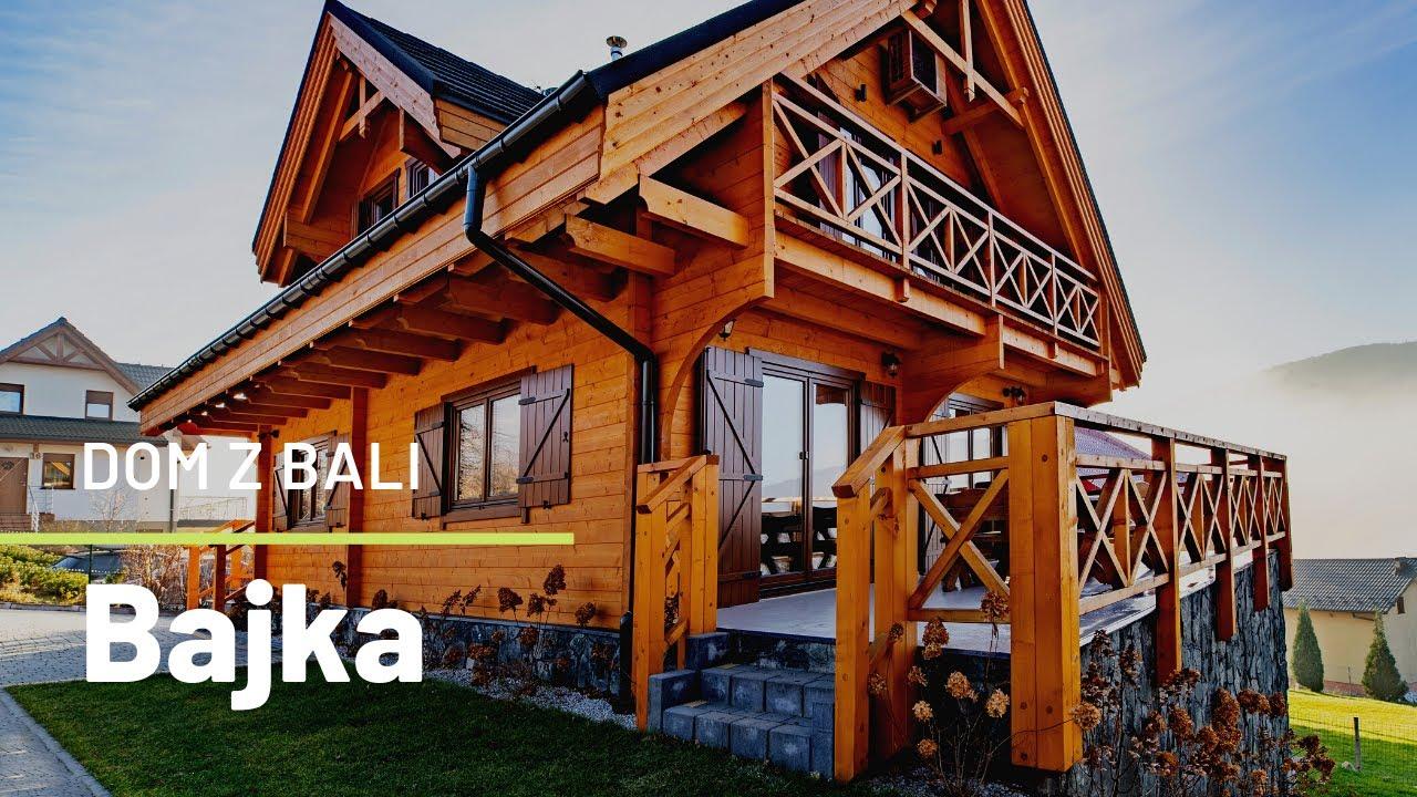 Download Niepowtarzalny dom z bala w góralskim stylu   Pensjonat Bajka w górach   Dom z charakterem