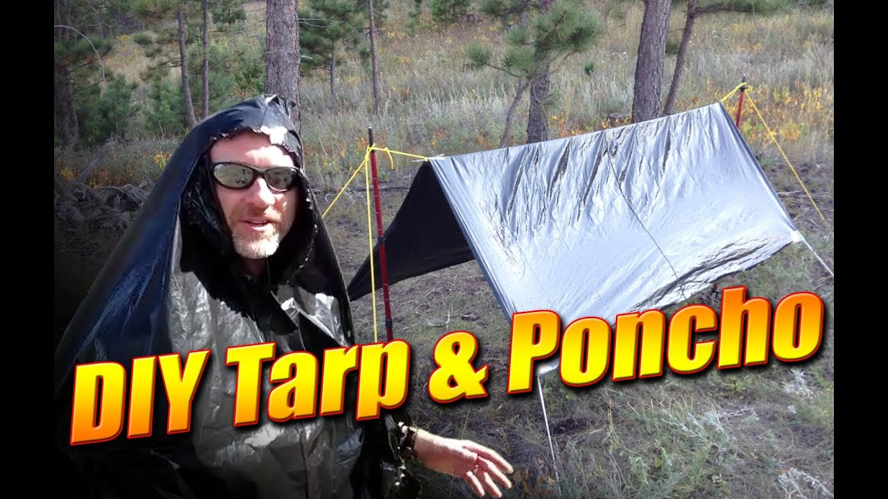 DIY Emergency Tarp and Poncho from a Garbage Bag  How to