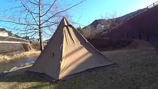 高知県須崎のかわうそ自然公園でソロキャンプ①