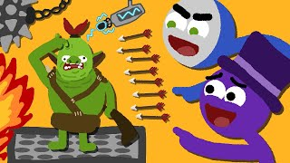 Zombey und GLP ärgern böse Orcs.