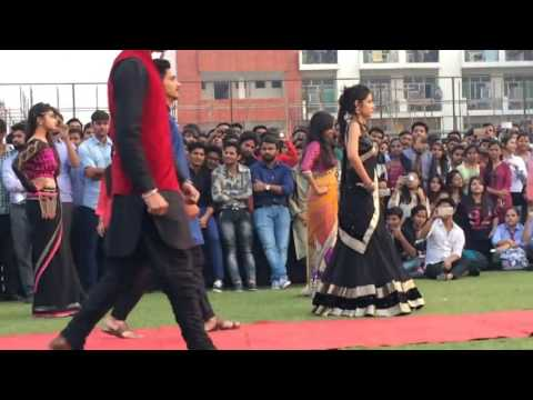 fashion show in indian college  full video 2017