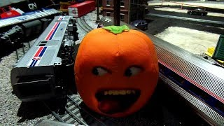 The Stupid Orange In Train Malfunction