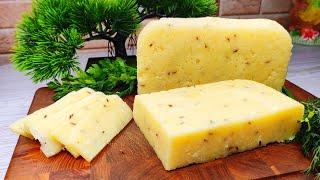 Беру молоко творог и делаю твёрдый сыр по деревенскому рецепту Делюсь рецептом рецепт блюдо